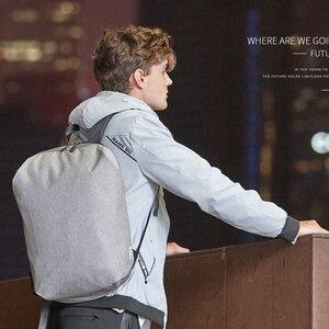 Image 2 - 新しい防水 15.6 インチのラップトップバックパックバッグ男性バックパック旅行十代の肩バックパック男性大学生スクール mochila