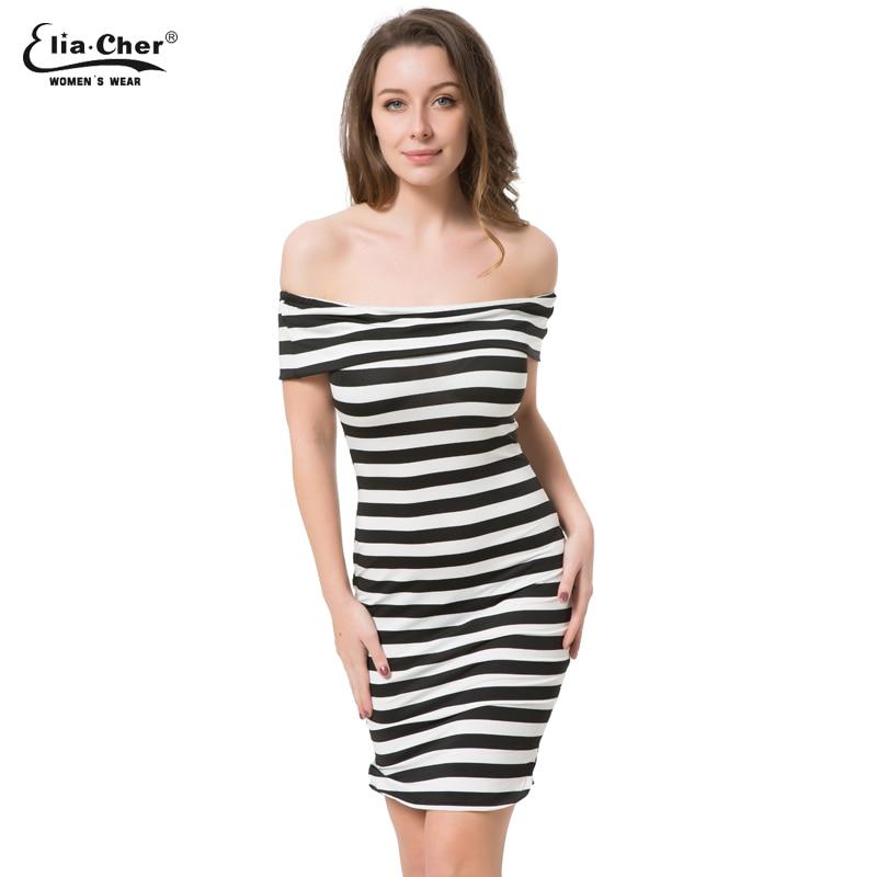 Black and white stripe bodycon dress malaysia