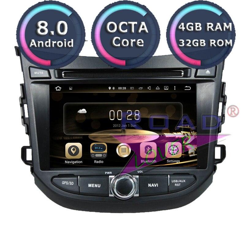 Roadlover Android 8.0 voiture DVD lecteur automobile Autoradio pour Hyundai HB20 2012-stéréo GPS Navigation Magnitol unique Din Audio