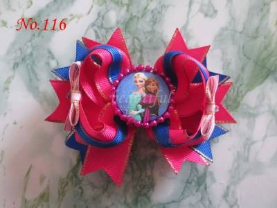 100 BLESSING Good Girl Boutique Modern Style Dance 4.5 Hair Bow Clip 128 No. танцевальный инвентарь dance charm 100