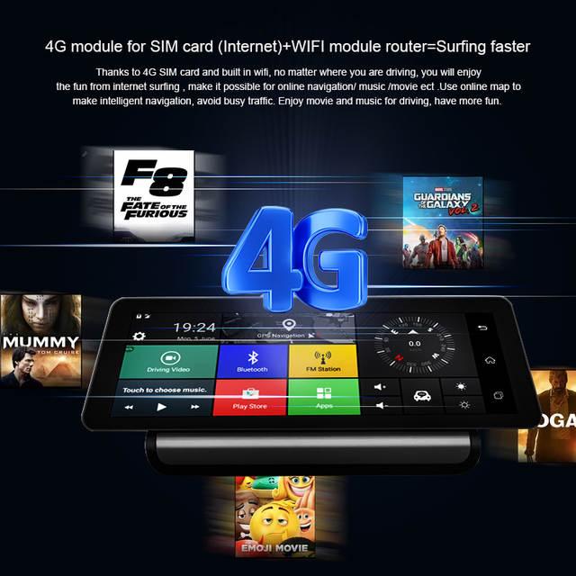 US $149 46 |KEELEAD 4G Car DVR Camera GPS 9 88
