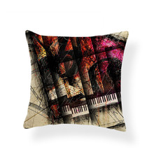 Guitar Decorative Pillowcase
