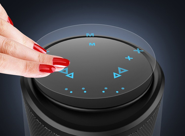 3D HIFI stereo touch Bluetooth speaker (3)