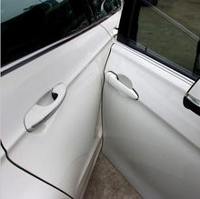 منتج جديد 5 متر باب السيارة لاصق مكافحة تألق صالح لأودي A3 A4 A5 A6 Q3 Q5 Q7 السيارات اكسسوارات السيارات التصميم