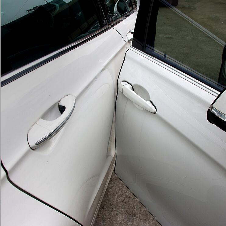 Новый продукт 5 метром автомобильный двери самоклеящейся наклейкой блеском Подходит для Audi A3 A4 A5 A6 Q3 Q5 Q7 Авто Наклейка аксессуары для стайлинга автомобилей-in Наклейки на автомобиль from Автомобили и мотоциклы