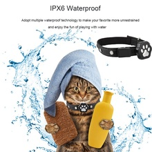 цена на Realtime Tracking Pet GPS Tracker Waterproof LED Smart Locator Dog Cat Anti-lost