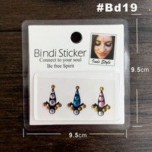 BD19Bollywood Strass Face Jewel Bindi Which Can Be Big Belly Dance Tribal Fusion Bindis Sticker