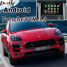 Android 5.1 GPS navigation box video interface for Porsche Macan Cayene Panamera PCM 3.1 with cast screen