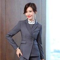 High Quality Fabric Uniforms Styles Female Blazers & Jackets Coat Women Business Work Wear Blazer Outwear Female Tops Clothes