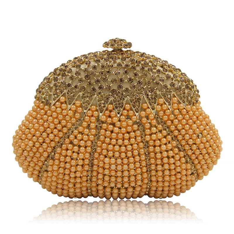 2019 Новые Модные Серебряные вечерние клатчи свадебные женские клатчи сумки высокого качества жемчужные сумки для женщин 2019 вечерние сумочки