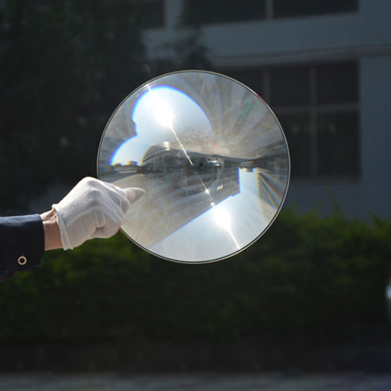 2PCS 250mm Diameter Big Round Plastic Solar Fresnel Condensing Lens Focal Length 500mm for Plane Magnifier,Solar Concentrator 2pcs 124mm dia round optical pmma plastic fine screw thread solar condensing fresnel lens large focal length 120mm 150mm 190mm