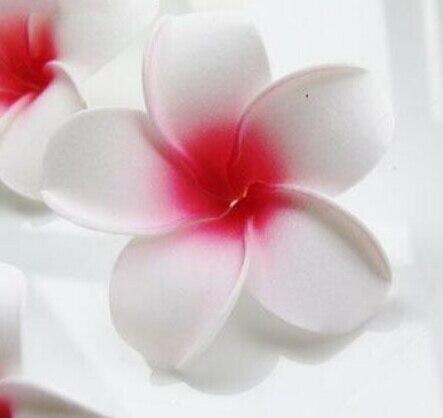 6 см Искусственный Плюмерия acutifolia PE Франгипани цветы, Рождественские Свадебные украшения орнамент, реквизит для фотографий, 200 шт - Цвет: B