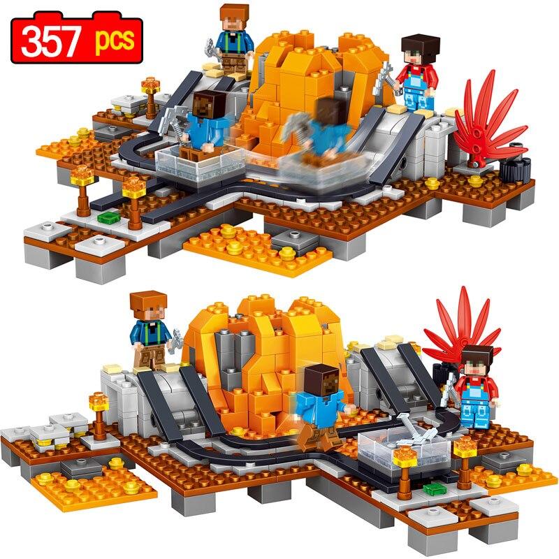 For, Volcano, Sets, Building, Kids, Pcs