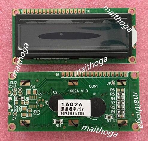 16P символьный ЖК-дисплей 1602 черный экран SPLC780C контроллер 3,3 В 5 в белый/зеленый/красный/желтый/оранжевый/синий слово параллельный интерфейс