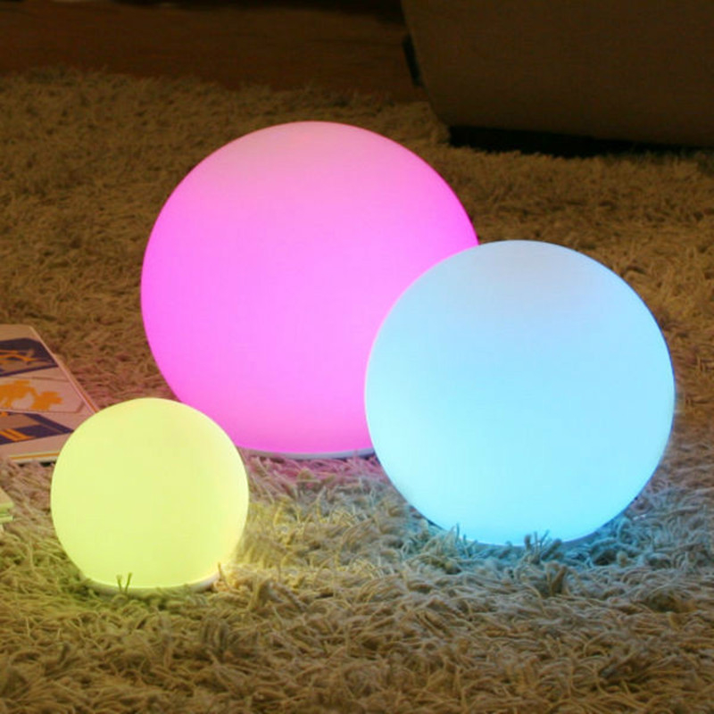 Modern Remote Control Charging Color Ball Night Lights Glowing Ball Home Decorative Bedroom Night Lamp Indoor Baby Night LightsModern Remote Control Charging Color Ball Night Lights Glowing Ball Home Decorative Bedroom Night Lamp Indoor Baby Night Lights