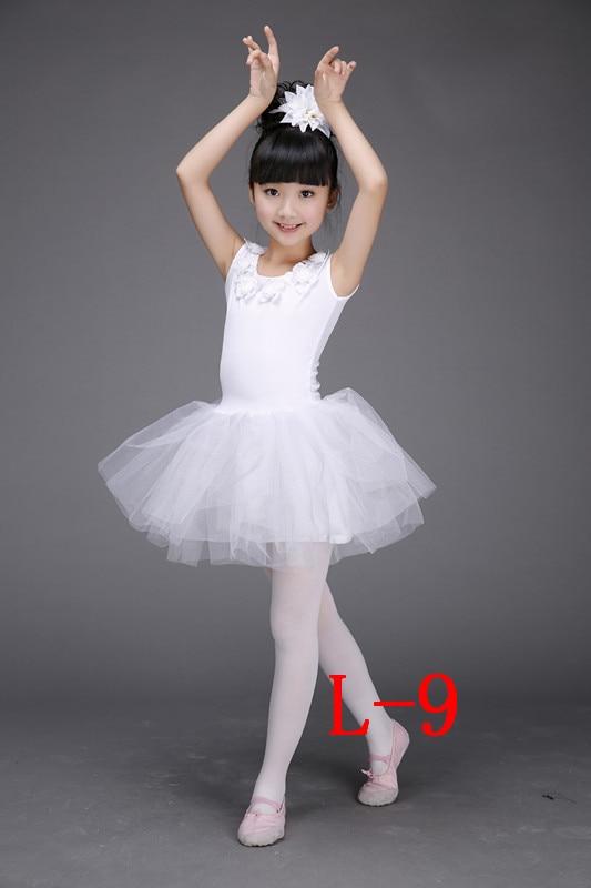9ae9596cd7 Girls Little Swan Dance Skirt Tutu Costume Dance Clothes Children White  Ballerina Dress Kids-in Ballet from Novelty & Special Use on Aliexpress.com  ...