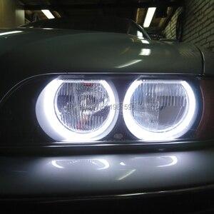 Image 2 - Hopstyling デュアルコローレ白 + 黄 Smd LED Bmw E36 E38 E39 E46 プロジェクターヘッドライト綿ライトエラーフリー