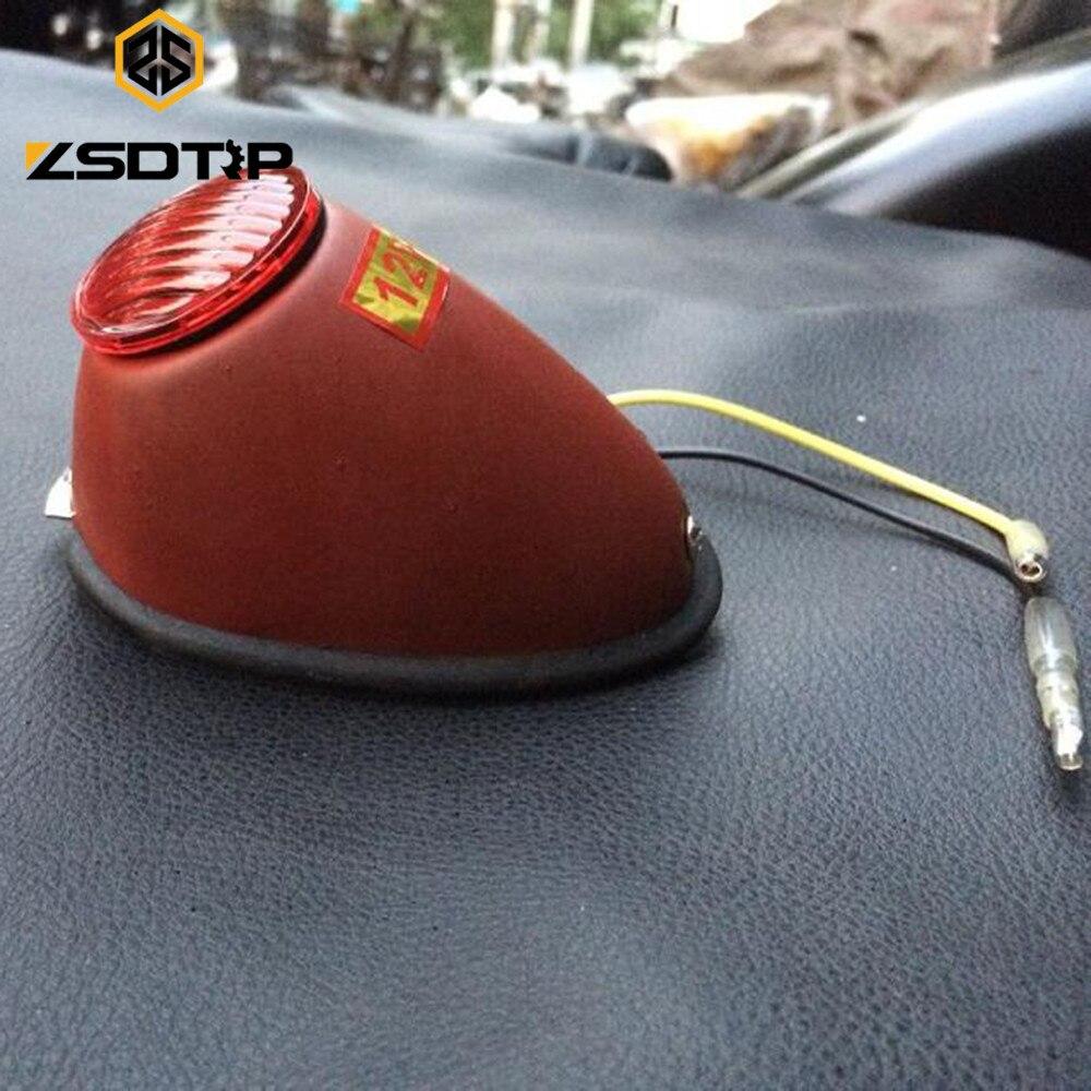 China original 100% retro model Side car red color rear light used at CJ-KC750 M72 case for Bmw R12 R71 motor