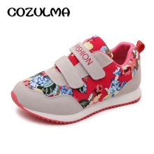 COZULMA Brand Children Casual Shoes Boys Girls Fashion Sneakers Autumn Style Breathable Kids Flat Sports Shoes Size 26-36