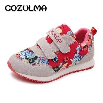 COZULMA marque enfants chaussures décontractées garçons filles mode baskets automne Style respirant enfants plat chaussures de sport taille 26-36