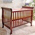 Venta caliente BooBee respetuosos del medio ambiente pintura de madera cuna multifuncional estilo Europeo juego de cama 65 cm * 120 cm