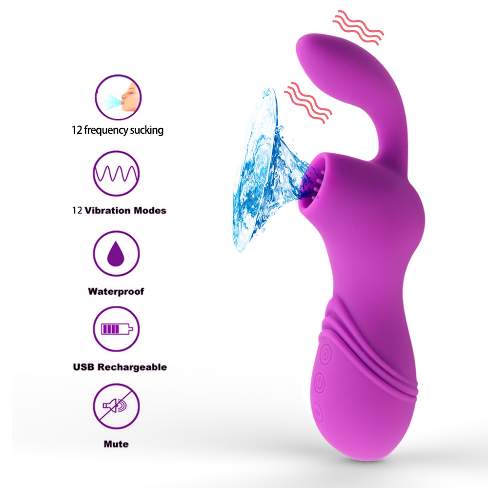 Blowjob Sex Oral Licking Nipple Sucking 12 Speeds Vibrating Clit Sucker Vibrator Clitoris Stimulator Adult Sex Toys for WomenBlowjob Sex Oral Licking Nipple Sucking 12 Speeds Vibrating Clit Sucker Vibrator Clitoris Stimulator Adult Sex Toys for Women