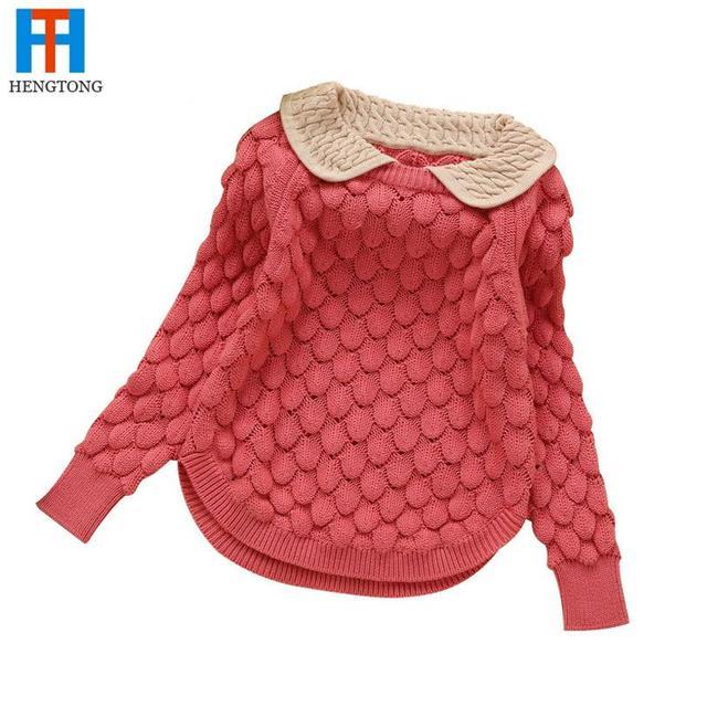 239b33377 2016 new fashion children sweater autumn winter warm girls knitted ...