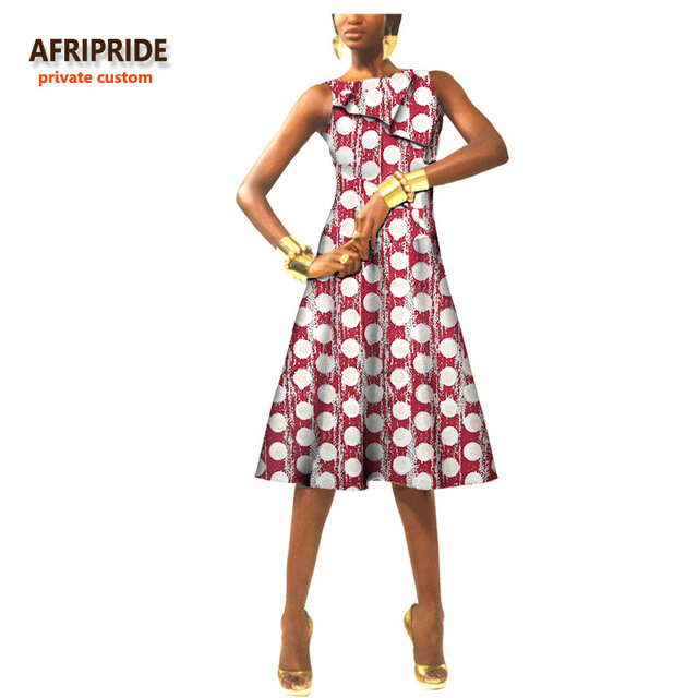 d5a182182f5 African stitch dress for women original african clothes bazin riche casual  traditional print cotton wax plus size A722503