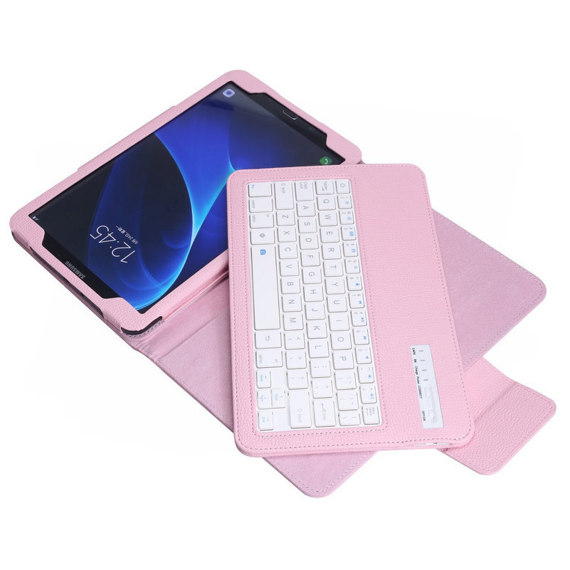 Teclado Bluetooth Funda de tableta para Samsung Galaxy Tab A 10.1 - Periféricos de la computadora - foto 4
