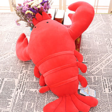 50/60/80CM Cute Plush Simulated Lobster Pillow Toys Stuffed Animals Toy Decoration Gifts For Girls And Kids