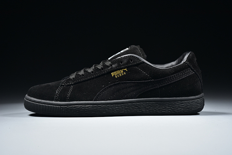 Free shipping 2018 spring new Puma leisure sports feather shoes series black  Badminton Shoes Size 40 315f9b330