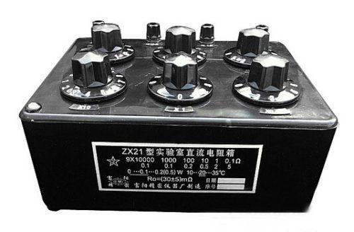 все цены на  ZX21 Variable Decade Resistor Resistance Box DC Resistance Box  онлайн