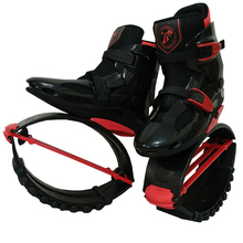 MiaoMiaoLong Jumps BKR3941 Black&Red US Men 6,6.5,7 US Women 7,7.5,8 Fitness Bounce Shoes Sports Jumping Sneakers Boots