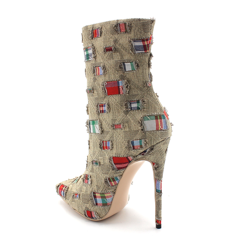 Mid-Calf Women Shoes Mending