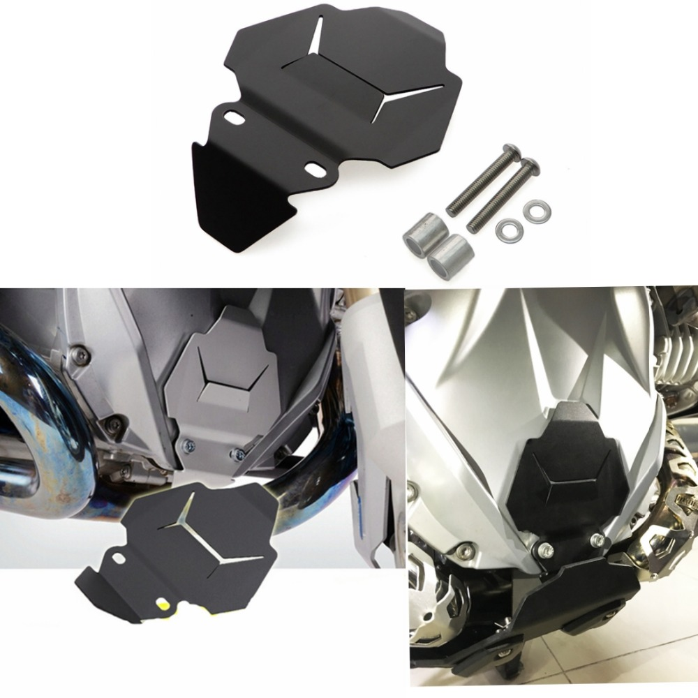 For BMW R1200GS Front Engine housing protection for BMW R 1200 GS LC 2013-2016 & For BMW R1200GS ADV LC 2014-2016 акрапович для бмв r1200gs 2013