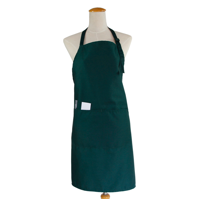 Us 7 1 29 Off 2019 New Unisex Bib Apron Kitchen Apron Personalized Aprons Adjustable Neck With 2 Pockets 10 Color Black Apron With Pocket In Aprons
