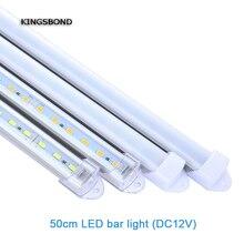 5pcs 50cm Factory Wholesale 10C to 50CM DC 12V SMD5730 LED Hard Rigid LED Strip Bar