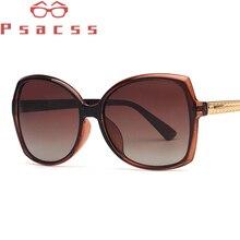 Psacss NEW Polarized Oval Sunglasses Women Elegant Vintage Brand Designer Retro Sun Glasses Female Gorgeous Fashion Mirror UV400