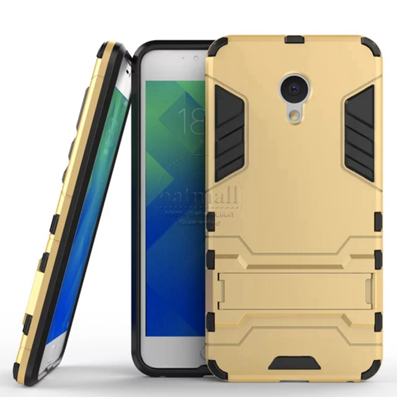 Good New Dual Layer Hybrid Tough Rugged Armor Phone Cover For Meizu M5 M5s Mini  M5 Note