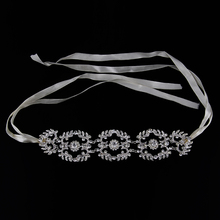 2017 Fashion New Women Hairband Crystal Tiara Bride Silver Jewelry Hairbands Ornaments Party wedding hair accessories