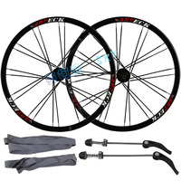 MEIJUN 26 Inch 24 Holes MTB Mountain Bikes Bicycles Disc Brake Wheel Hubs Rim Knife Circle