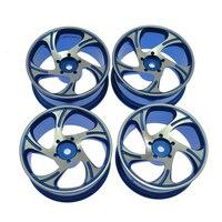 1 10 RC Drift Car Aluminium Alloy Wheel Rims Diameter 52mm For HSP Sakura HPI Kyosho