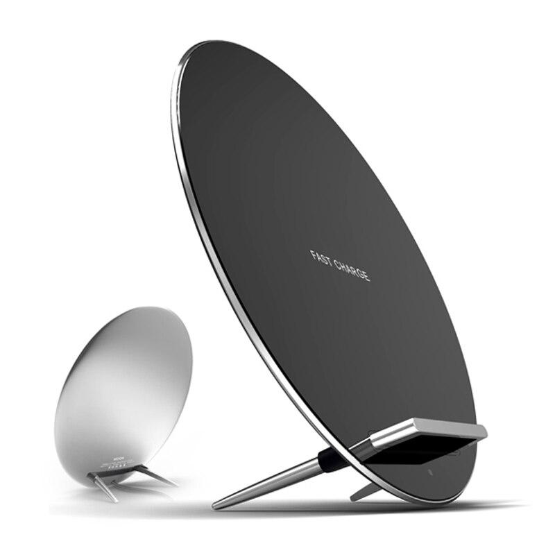 Norme QI en aluminium de Zinc de protection de charge rapide sans fil pour la conception Unique de téléphone intelligent - 1