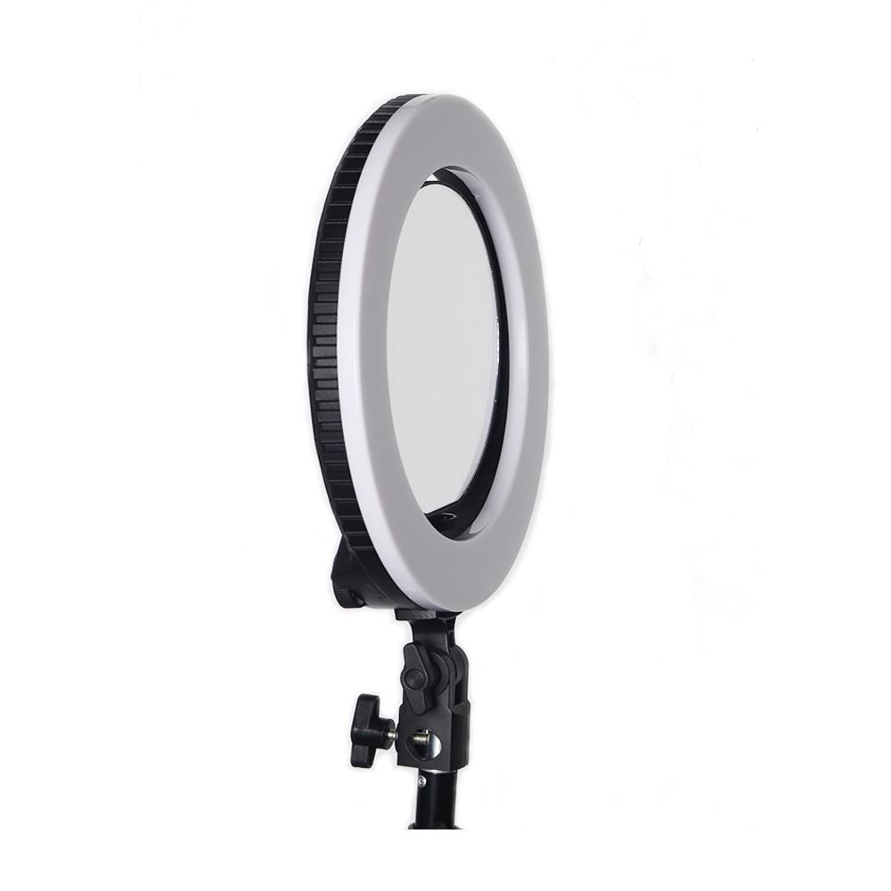 Yidoblo QS 280 mini size 10 Camera Selfie make up Foto/Studio/Telefoon/Video LED Ring Licht Fotografie dimbare Ring Lamp - 3