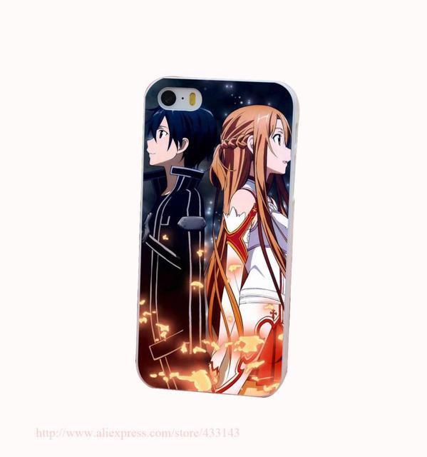 Anime Manga Covers: Sword Art Online SAO Anime Manga Case For IPhone 4 4s 5 5s
