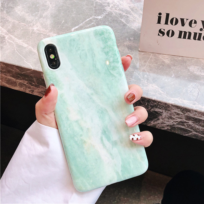 Luxury Marble Pattern Texture Cover Phone Case For Huawei P30 P20 Mate 20 Pro Lite Nova 2S 3 3i 3e 4 Soft IMD Back Protect Funda in Fitted Cases from Cellphones Telecommunications