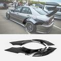 Для Lexus 98-05 IS200 Altezza XE10 EPA стиль стекловолокно заднее крыло 4 шт + 65 мм FRP стекловолокно колесо бликовая арочная крышка комплект для дрифта