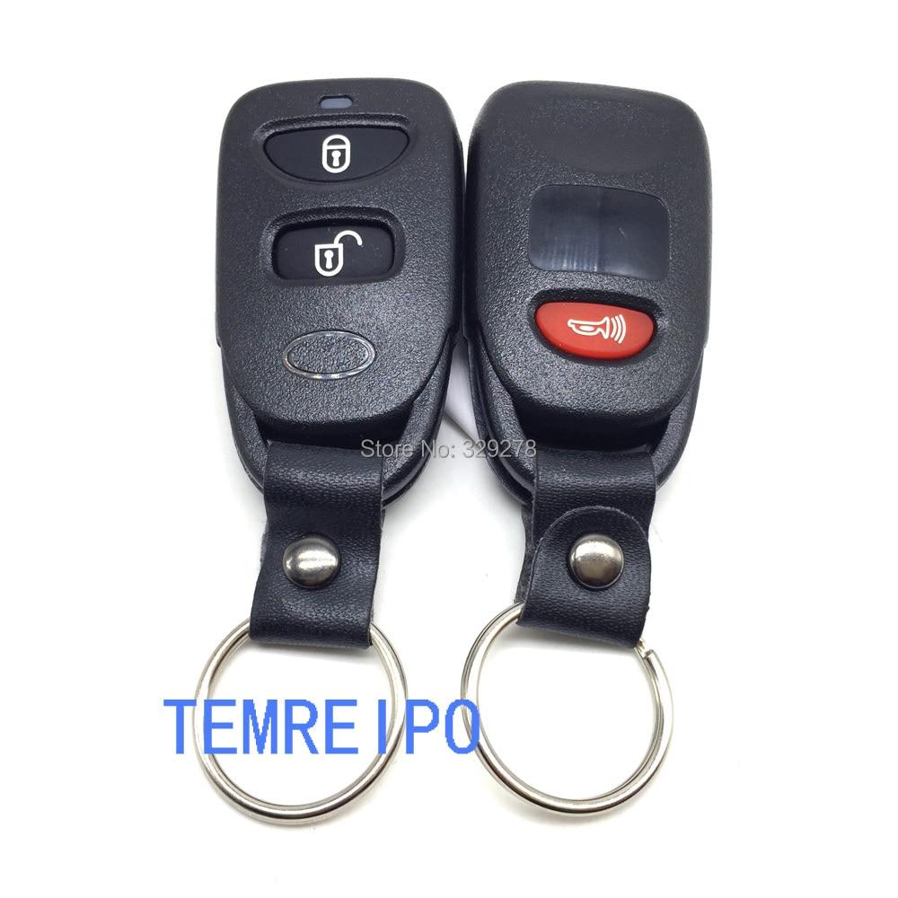 20pcs/lot 2+1 Panic Entry Keys for Hyundai Tucson Tucson Elantra Accent Santa Fe Remote Key Case hyundai Car Key Shell