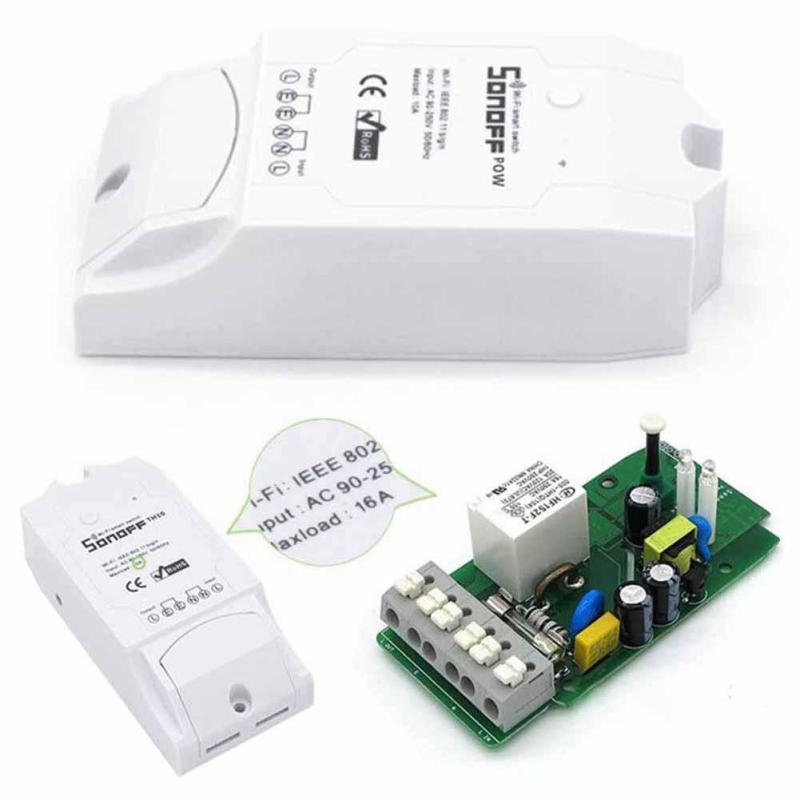 Wireless 2.4GH WiFi Switch ON/Off 16A With Real Time Power Consumption Measurement Home Appliance For IOS Android AC 90V~250V ...