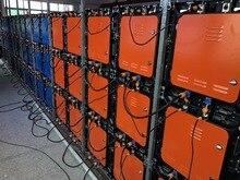 10 комплектов литых под давлением алюминиевых шкафов P8 512x512 мм